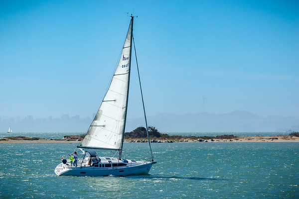Sailboat on San Francisco Bay