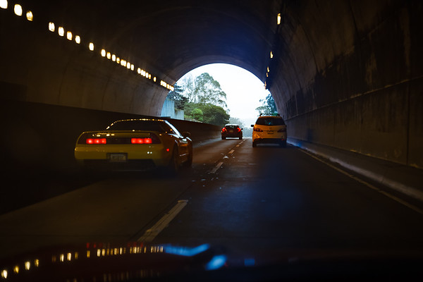 Emerging from the General Douglas MacArthur Tunnel