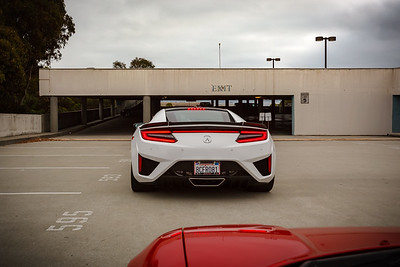 Our group leader is Ed Byrne, a NorCal owner I met during our NSX Yosemite Drive last year.  He's in a red NA1, but I join the queue behind a white NC1.
