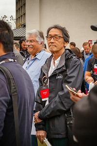 Daniel and NSX Club of Japan president Hirofumi Tomiyoshi