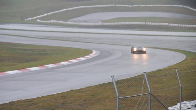 092811-1 Rainy track view