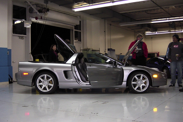 The Silverstone NSX now has a silver interior to match