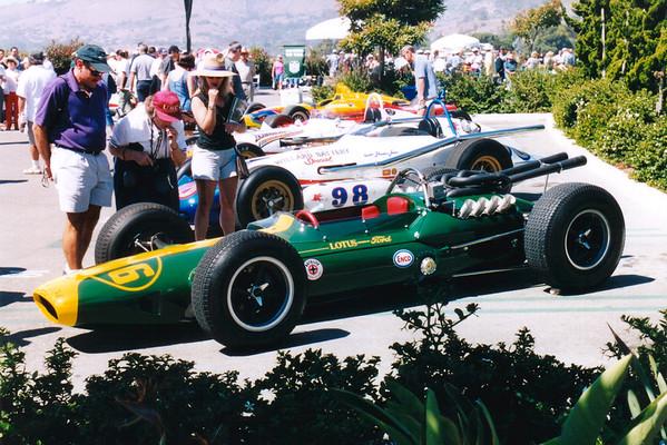 Lotus-Ford Formula 1 Race Car