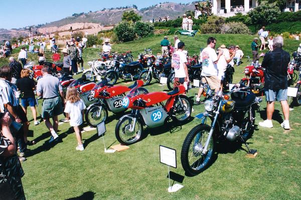 Vintage bikes.
