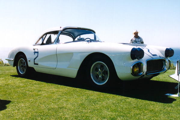Briggs Cunningham's 1960 LeMans Corvette.