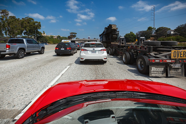 I had hoped traffic on the 405 would have already thinned by this hour