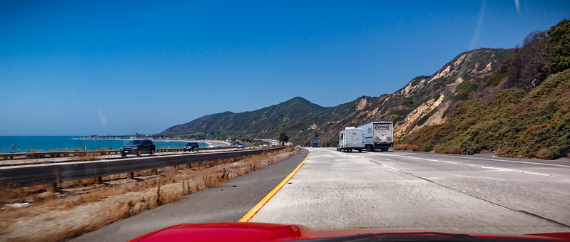 Continuing north on 101