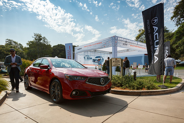 """Acura's pavilion at The Quail lies just outside of the venue...and offers """"The NSX Experience"""""""
