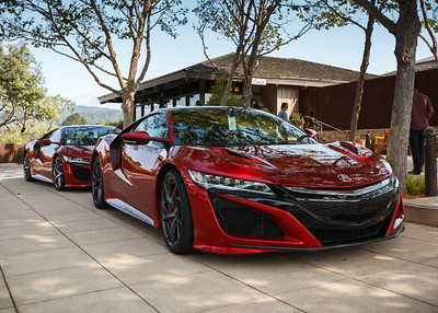 """The NSX Experience"" is a test drive of some kind"