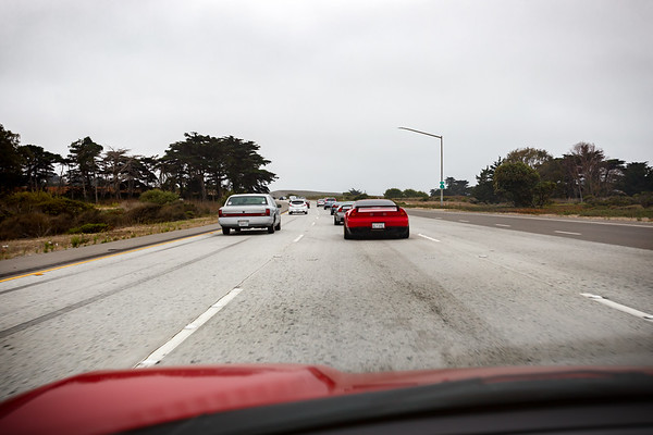 Southbound on Highway 1