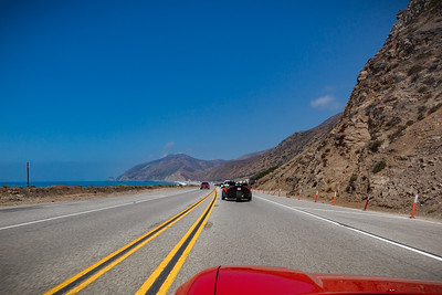 Approaching Point Mugu on PCH