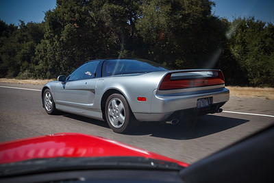 OEM 5 spoke rims and original exhuast tips...an early model NSX coupe for sure!