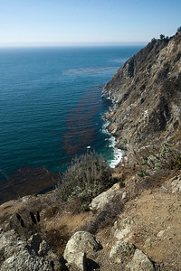We return to the coast after a brief inland bit through Big Sur