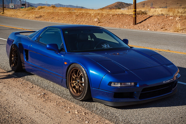 Robert's extra low NSX