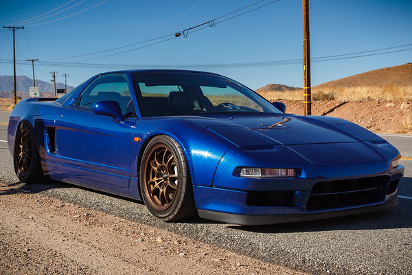 Robert's extra low NSX deserves a lower angle shot