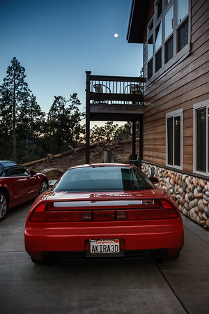 """Moon Over The NSX (queue """"Moon Over The Castle"""")"""