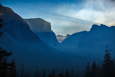 From the Yosemite sunrise timelapse...just before I changed the focal length from 35mm to 16mm