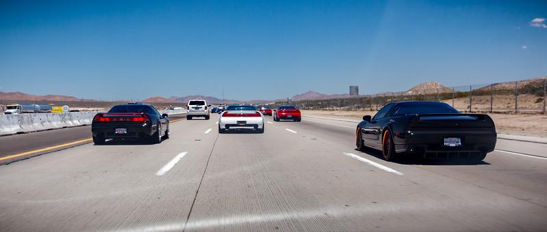 Heading northeast on Interstate 15