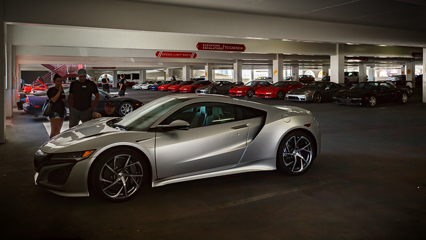 First-gen NSX owners take a closer look at the new car