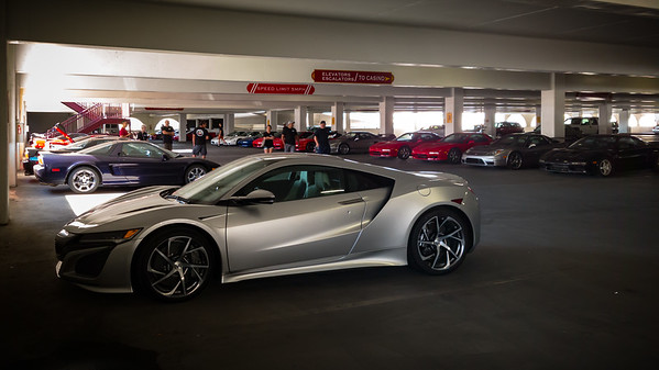 We have learned that Ann, the first owner of a second-generation NSX to join one of our events, has driven all the way from Sacramento