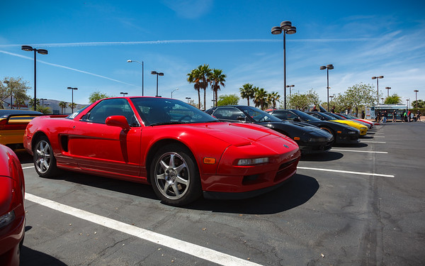 I probably shouldn't just take pictures of MY NSX, but I am intentionally limiting my use of my DSLR this trip due to how much dust is presently on its sensor