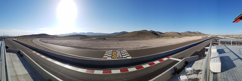 The track at Speed Vegas (Smartphone Panorama)