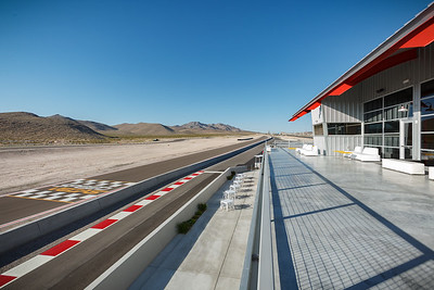 Observation deck at Speed Vegas