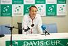 Davis Cup-kaptein Anders Håseth