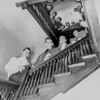 """Early Students remembered the long climb up the narrow winding staircase to the converted ballroom chapel in the """"Old Mansion"""""""