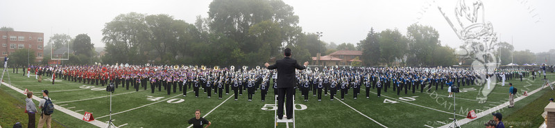 HS Band Day Panorama1