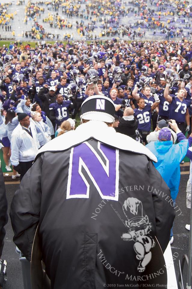 Playing Go U Northwestern for the team.