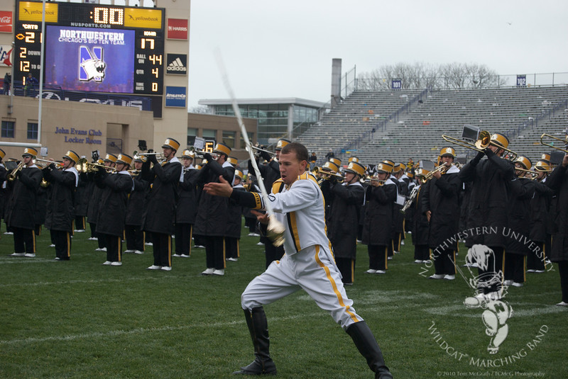 Hawkeye Drum Major: Intense