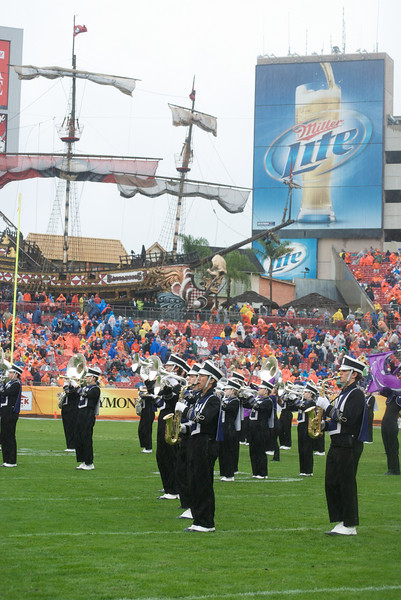 Halftime at the Outback Bowl<br /> <br /> Photo by Tom McGrath