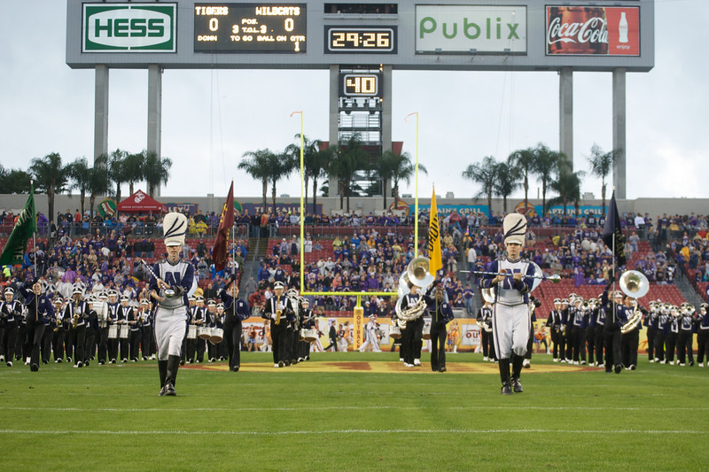 Pregame at the Outback Bowl<br /> <br /> Photo by Tom McGrath