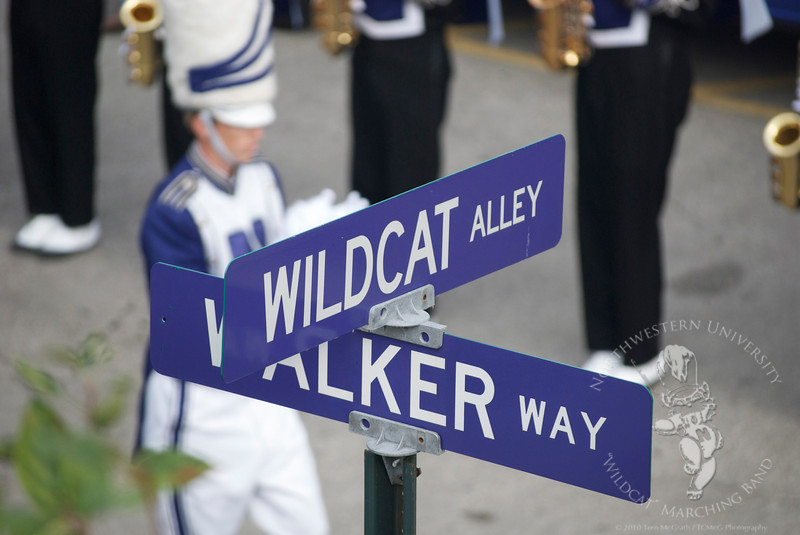 "Intersection of Wildcat Alley and Walker Way - ""Walk With Us"" 9/12/2009"