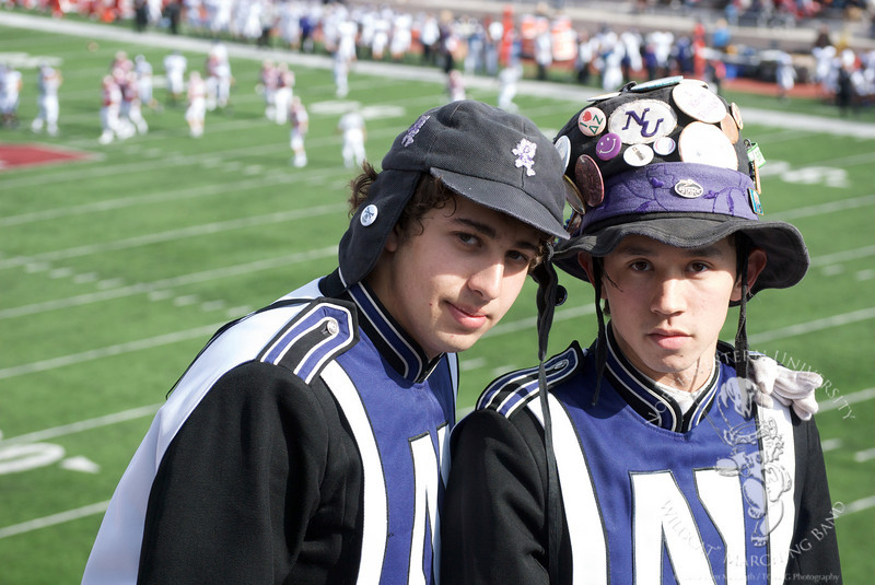 SpiriTeam - Jed Feder (Grinder, L), and Zack Moy (Spirit Leader, R)
