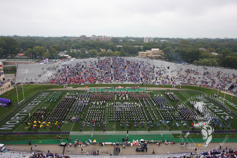 Northwestern vs. Illinois State at Ryan Field, September 11, 2010