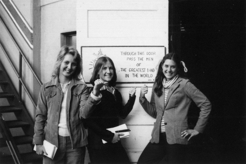 Mallory Thompson, Judy Drtina and Susan Bartosz (1978)