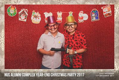 NUS Alumni Complex Year-end Christmas Party 2017 | © www.SRSLYPhotobooth.sg