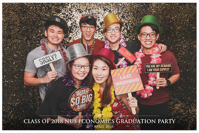 NUS Class of 2018 Economics Graduation Party | © www.SRSLYPhotobooth.sg