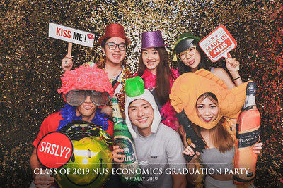 NUS Dept of Economics | © www.SRSLYPhotobooth.sg