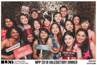 NUS LKYSPP MPP Valedictory Dinner 2018 | © www.SRSLYPhotobooth.sg