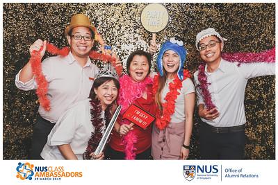 NUS Class Ambassadors Investiture 2019 | © www.SRSLYPhotobooth.sg