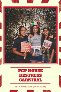 PGP House Destress Carnival 2018 | © www.SRSLYPhotobooth.sg