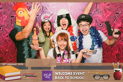 NUS PGP House Welcome Event | © www.SRSLYPhotobooth.sg