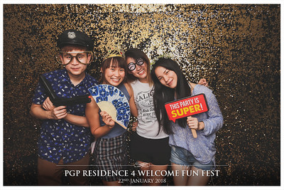 PGP Residence 4 Welcome Fun Fest 2018 | © www.SRSLYPhotobooth.sg