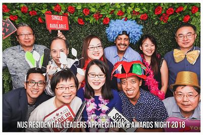 NUS OSA RL Appreciation & Awards Dinner 2018 | © www.SRSLYphotobooth.sg