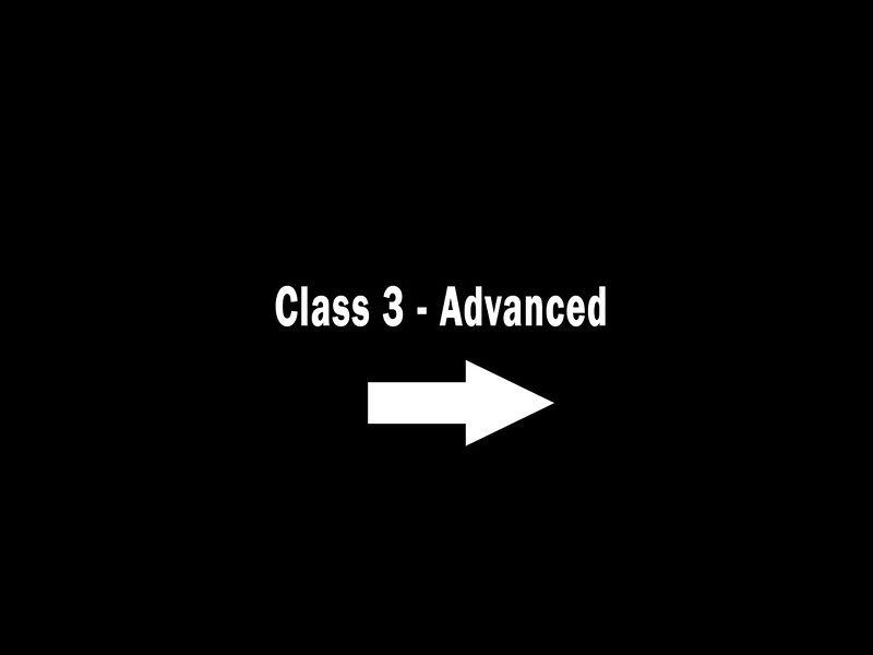 Class 3 - Advanced