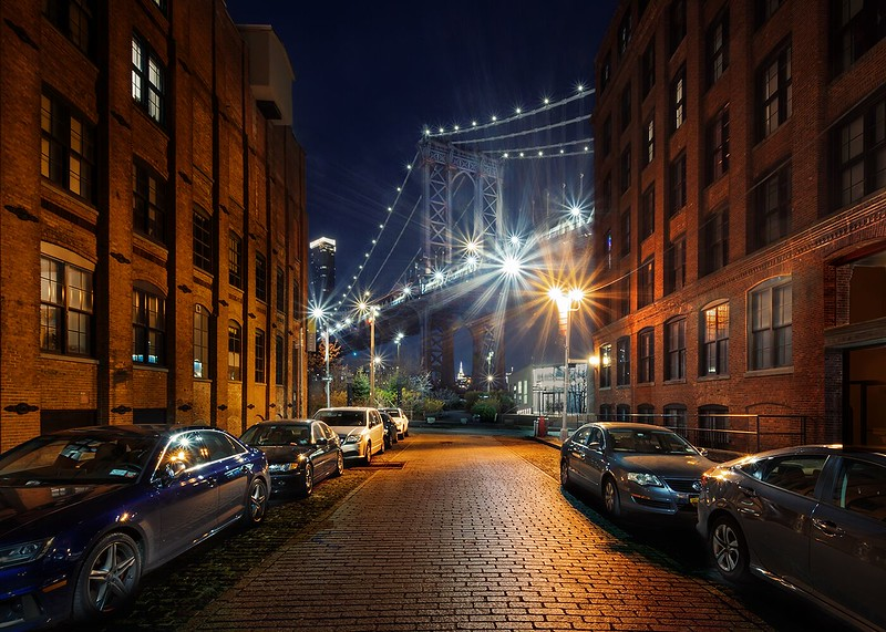 Class3D_HM_Gary Perlow_Manhattan Bridge From Brooklyn