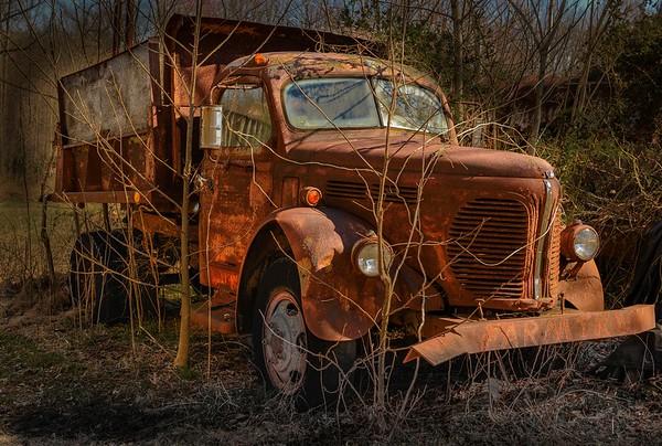 Truck Graveyard - March